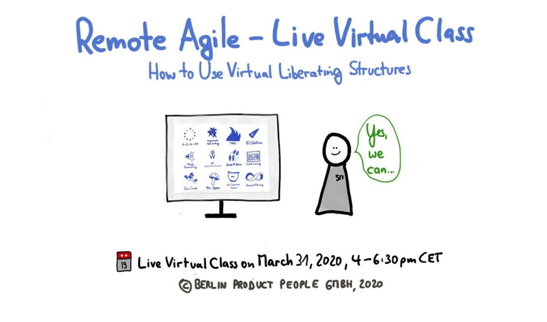 Remote Agile (Part 2): Virtual Liberating Structures