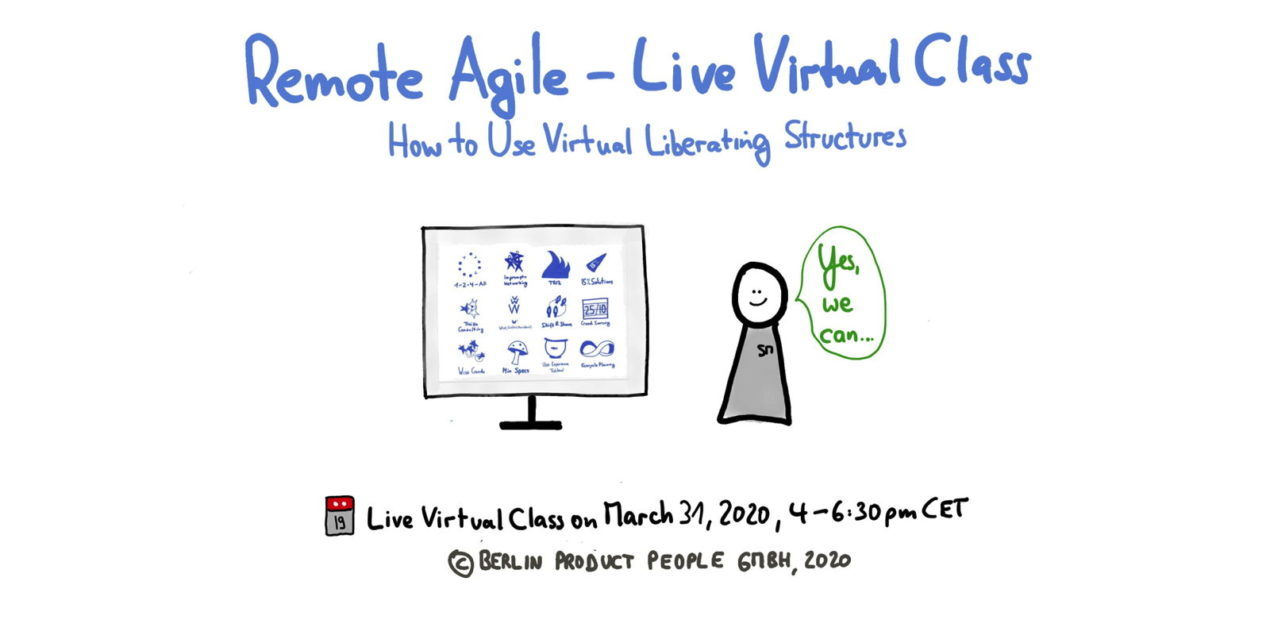 Remote Agile (Part 2): Virtual Liberating Structures —Age-of-Product.com
