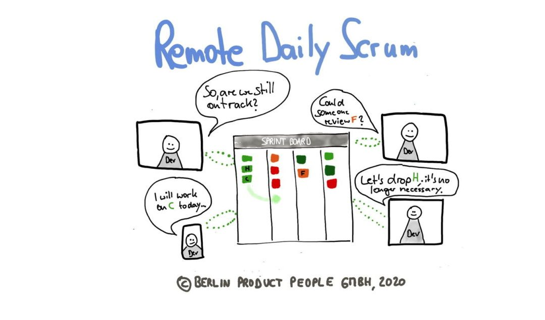 Remote Agile (Part 8): Daily Scrum with Distributed Teams