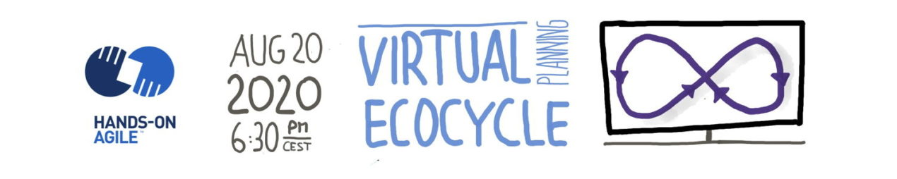 Hands-on Agile #25: Virtual Ecocyle Planning with Mural —August 20, 2020
