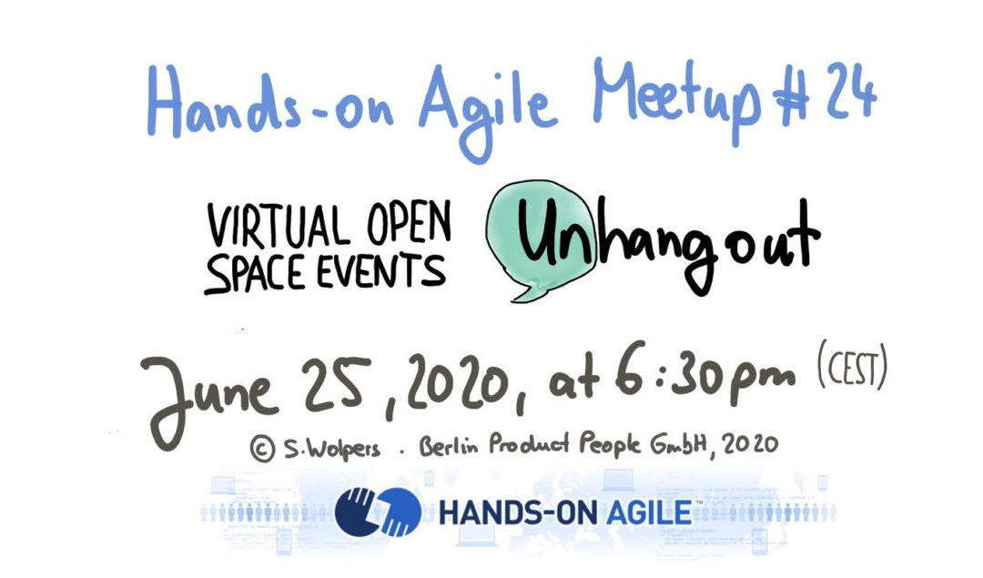 📅 🖥 June 25, 2020: Exploring Virtual Open Space Events w/ MIT's Unhangout Application