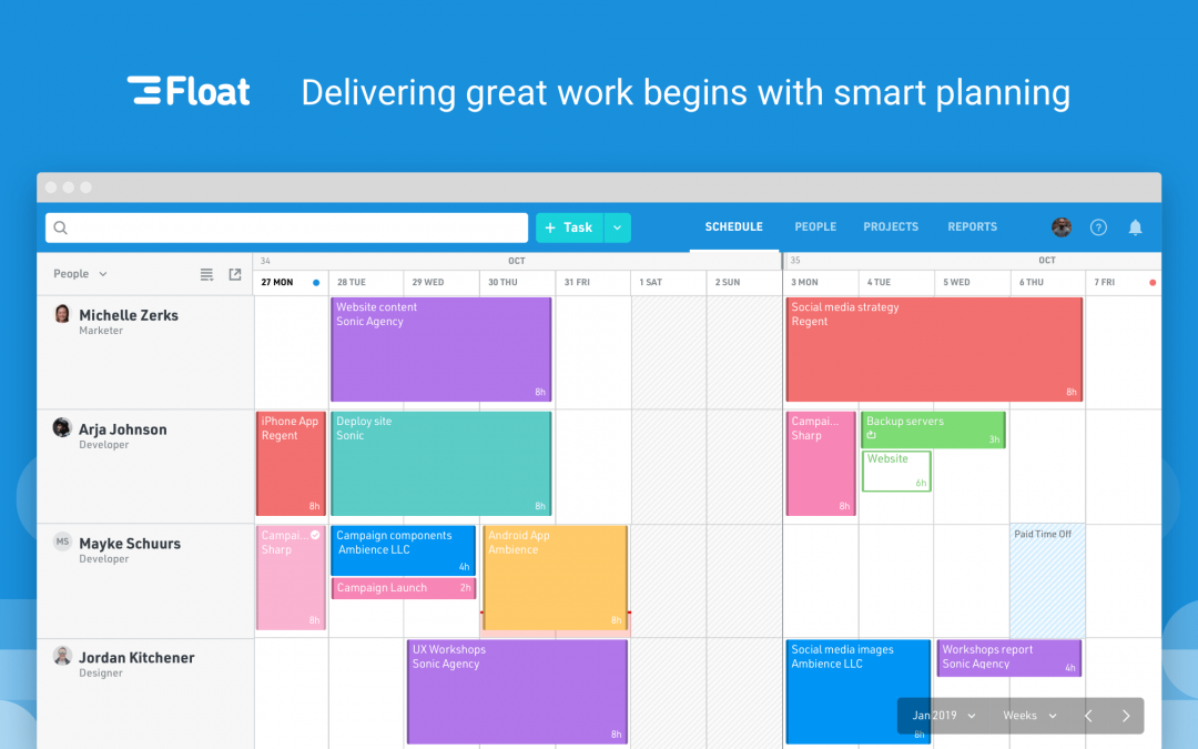 8 Best Project Management Tools and Resource Scheduling Software to Improve Teams