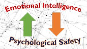 What's the link between emotional intelligence and psychological safety?