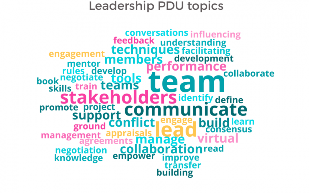 How to Earn Leadership PDUs for PMP Renewal in 2020