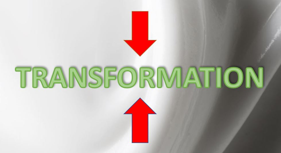 Think top-down and bottom-up for agile transformations
