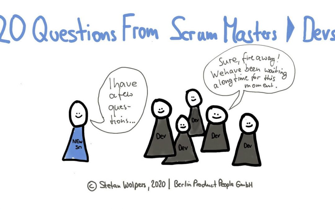 Download the 20 Questions from New Scrum Master to the Development Team Questionnaire