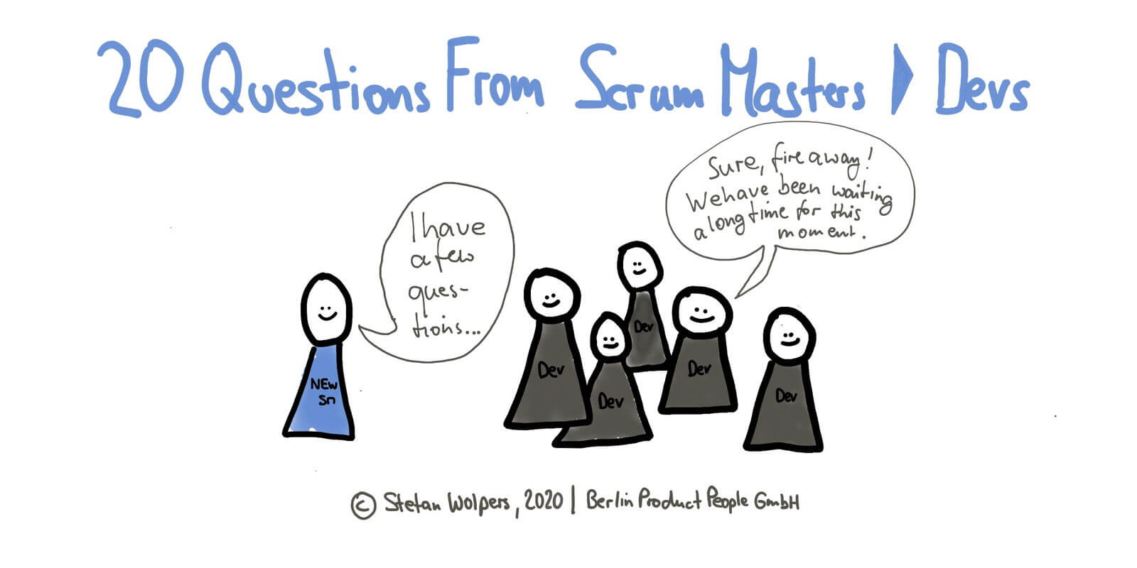 20 Questions from New Scrum Master to the Development Team —Age-of-Product.com