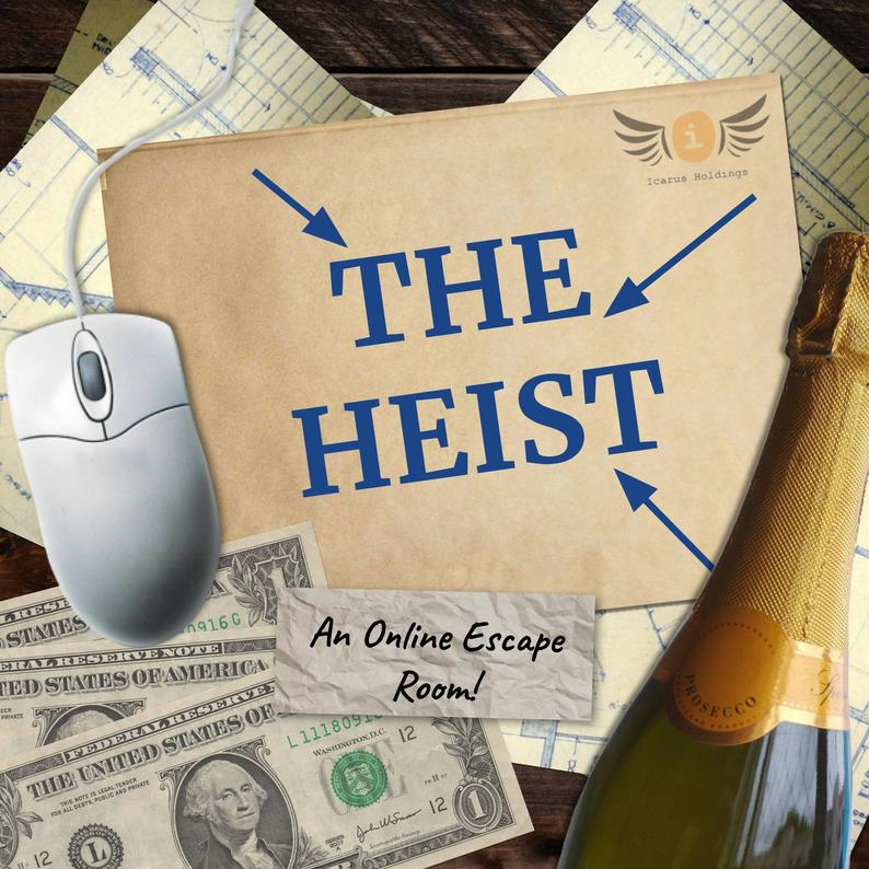 The Heist Online Escape Room