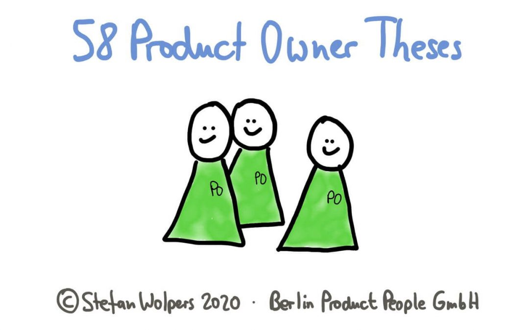 58 Product Owner Theses