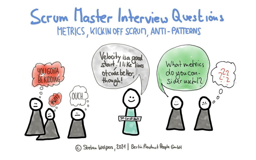 Scrum Master Interview Questions (4): From Agile Metrics to Scrum Kick-off to Scrum Anti-Patterns