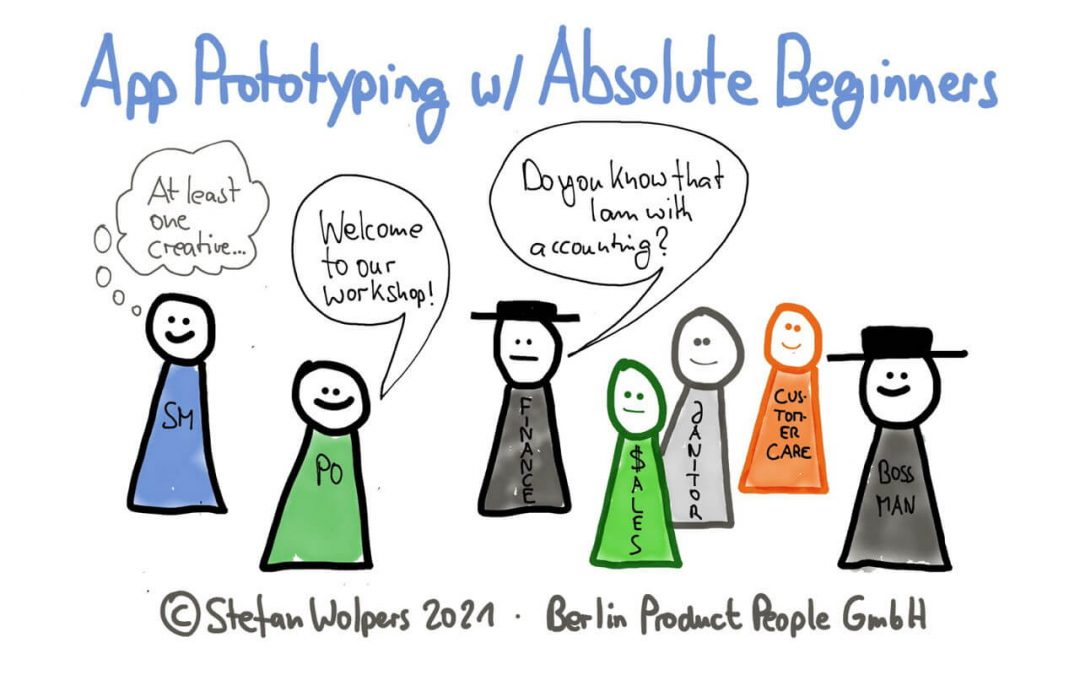 App Prototyping with Absolute Beginners – Creating a Shared Understanding of How Empiricism Works