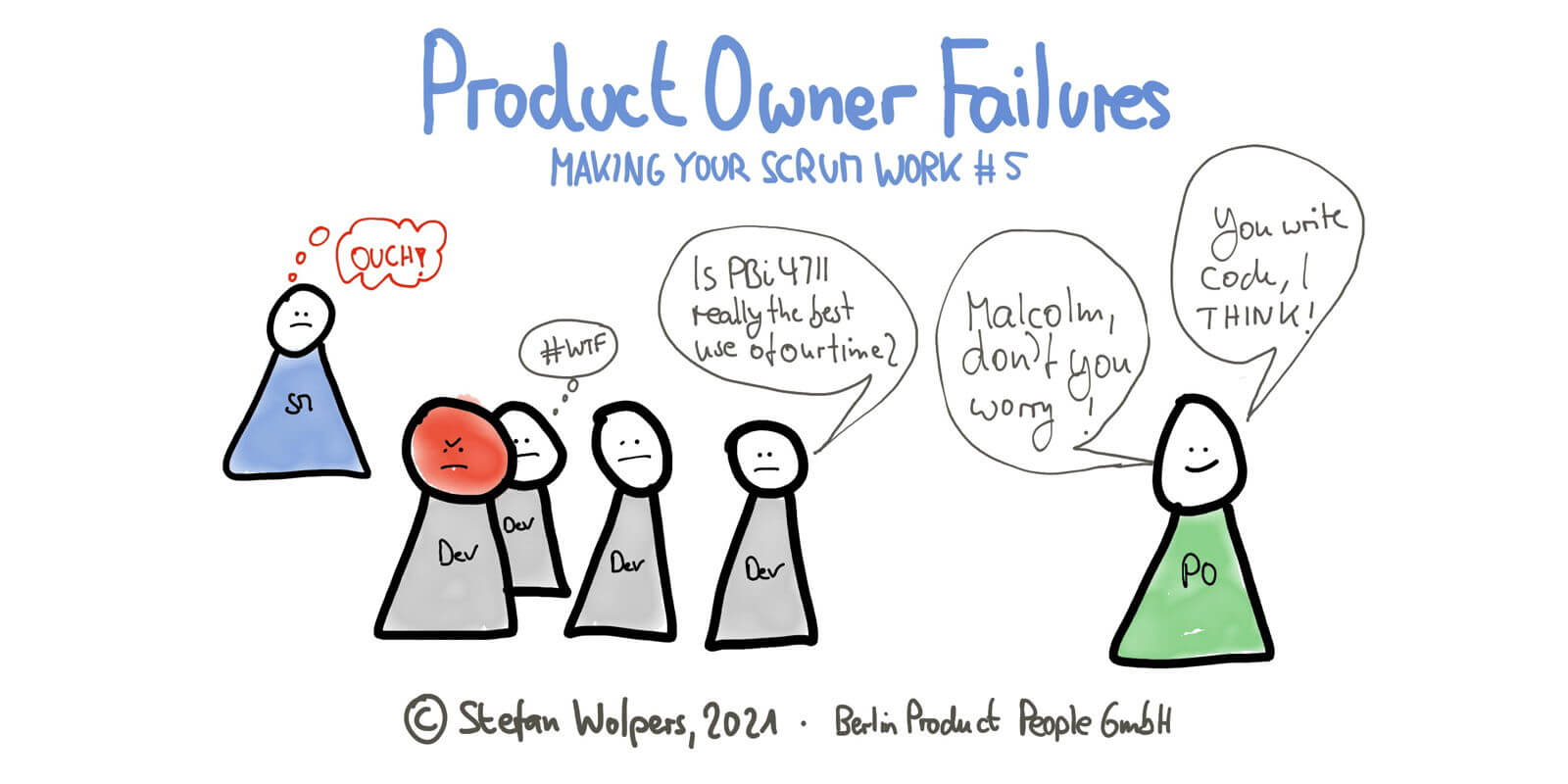 Three Wide-Spread Product Owner Failures in 6:09 Minutes—Making Your Scrum Work #5 — Age-of-Product.com