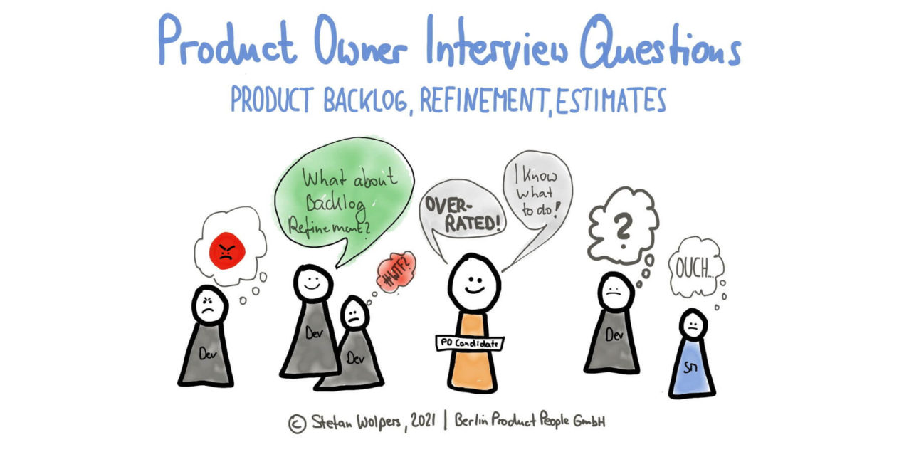 Product Owner Interview Questions —The Product Backlog and Refinement — Age-of-Product.com