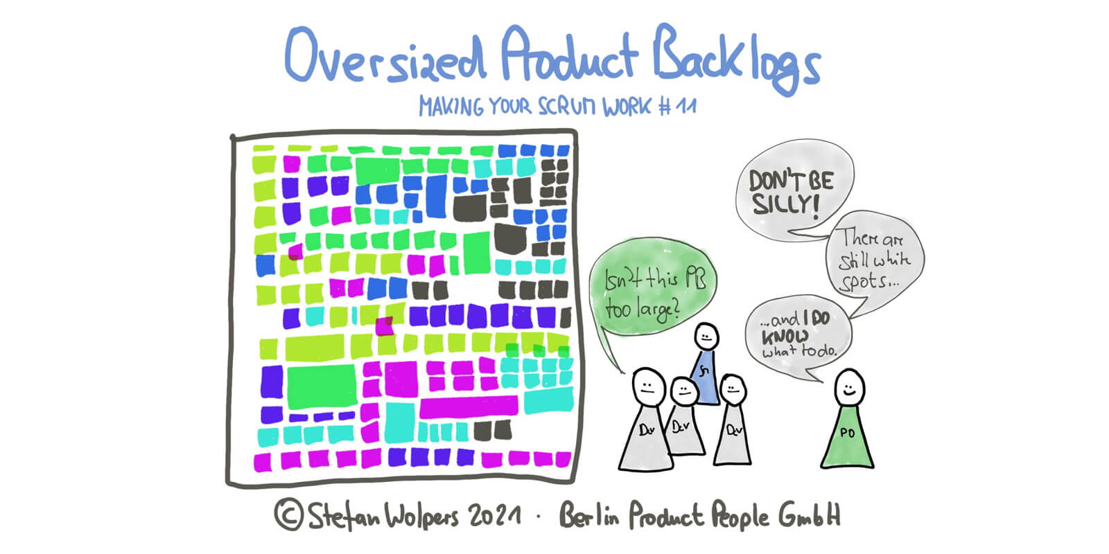 The Oversized Product Backlog Problem — Making Your Scrum Work #11 — Age-of-Product.com