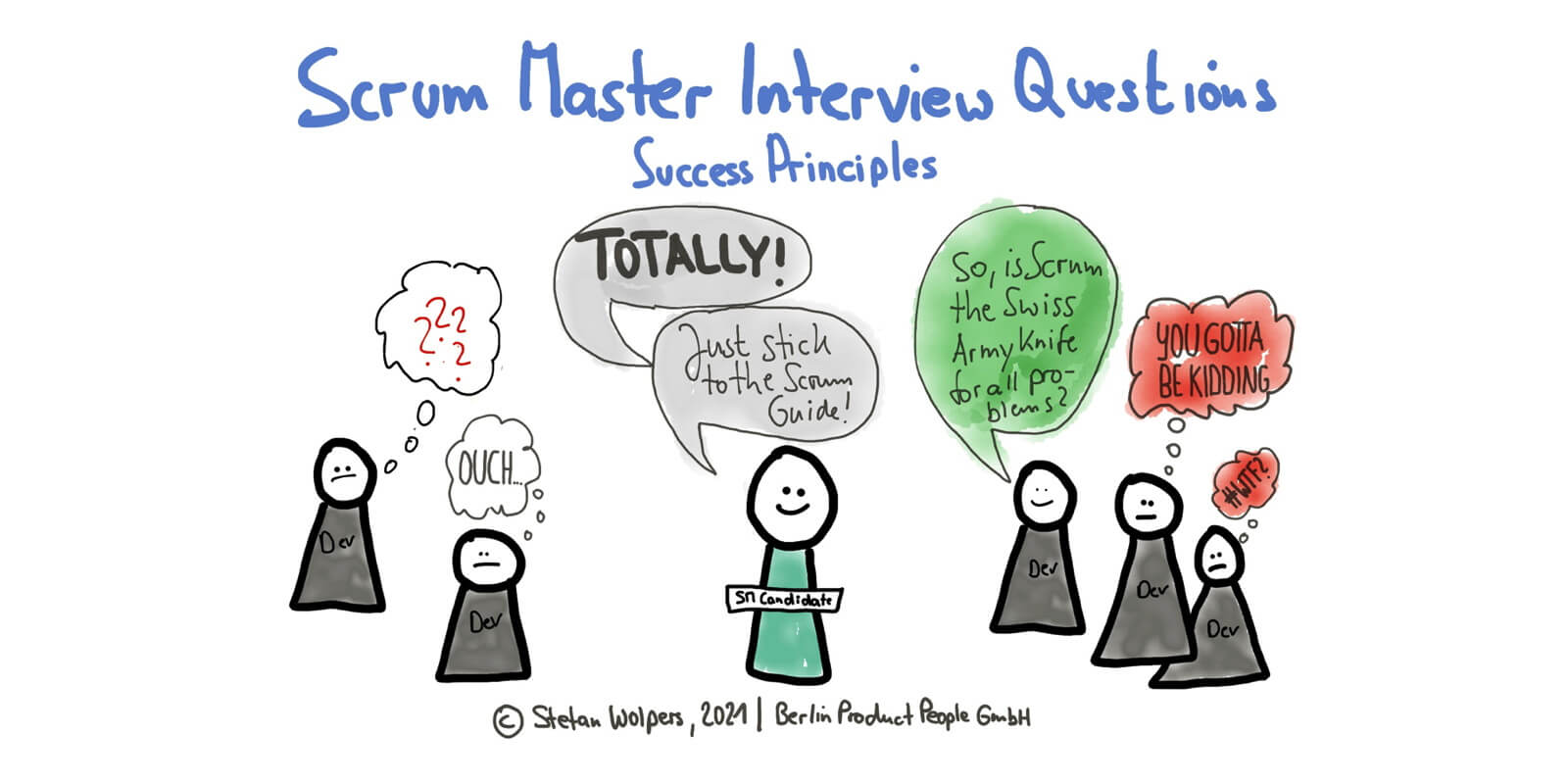 51 Scrum Master Interview Questions (5): Scrum Success Principles and Indicators —Age-of-Product.com